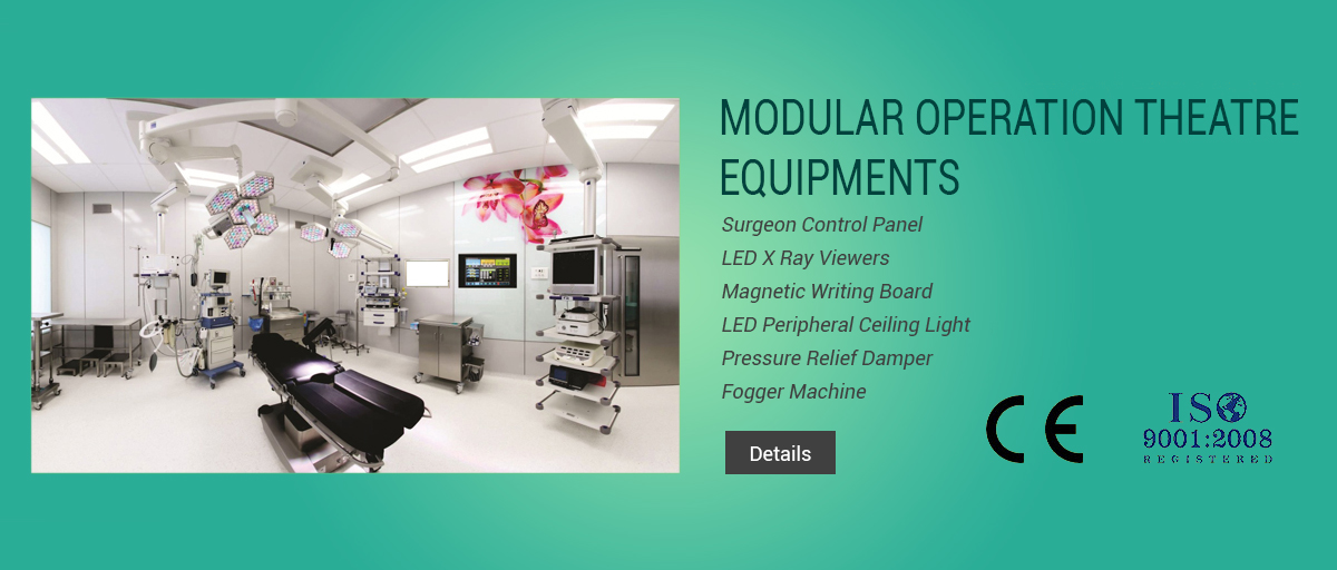 Modular Operation Theatre Equipments