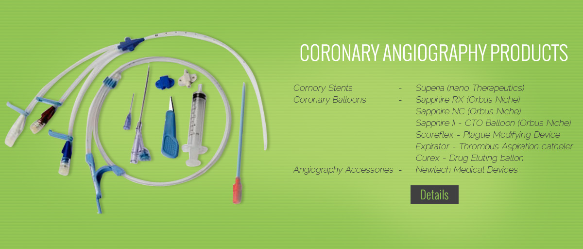 Coronary Angiography Products